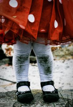 red skirt and tights - adorable Little People, Little Ones, Little Girls, Precious Children, Beautiful Children, Baby Love, Cute Kids, Make Me Smile, My Girl