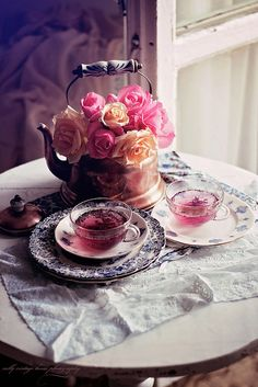 nelly vintage home:morning tea