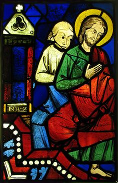 Two Seated Apostles from a Pentecost Scene, ca. 1245–48. The Metropolitan Museum of Art, New York. The Cloisters Collection, 1937 (37.173.5) #Cloisters