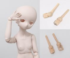 volks MDD with 3 degrees of freedom wrist + rod 1 pair - Taobao Degrees Of Freedom, Ball Jointed Dolls, Pairs