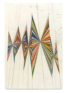 red-lipstick:Mark Grotjahn (American, b. Pasadena, CA, USA) - Untitled (Colored Butterfly White Background 10 Wings), 2004 Drawings: Colored Pencils on Paper Art And Illustration, Illustrations, Claude Monet, Jim Lambie, Modern Art, Contemporary Art, Float Like A Butterfly, Butterfly Painting, Paul Klee