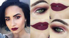 Tutorial – maquiagem de outono da Demi Lovato