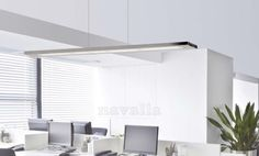 Elegant pendant LED lighting from our new manufacturer - ACB Design, from Spain. Reduce the consumption of your office
