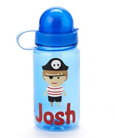 Pirate Dome Top Water Bottle