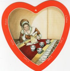 The Heart Tarot- Four of Cups