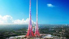 Torres Gemelas de Wuhan (China) medirán 1Km