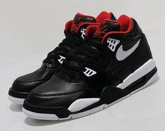 Nike Air Flight 89   Black   White   Red