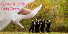 Hysterical Bridal Party Photos You Must Have! Let's face it! Most wedding pictures are formal and requireyour best smile. These pictures are not only informal but they'll make you smile. If you're hoping to beat wedding day nerves, the best way is to just be yourself and have some fun with your bridal party! Take …