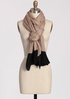 okay how do i make my scarf do this? Vancouver Colorblocked Scarf