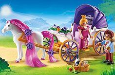Amazon.de:PLAYMOBIL 6856 - Königspaar mit Pferdekutsche