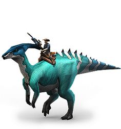 Play for free at DinoStorm.com -- Dino Storm --  Key Character 3  --- Cowboys, Dinosaurs, and laser guns!