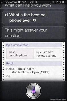 Siri O Siri...