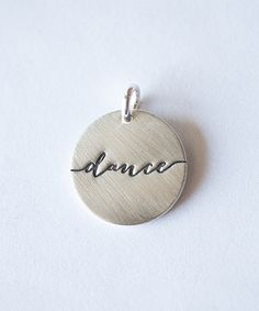 This Five Little Birds Jewelry Sterling Silver 'Dance' Charm by Five Little Birds Jewelry is perfect! #zulilyfinds