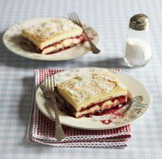 Žloutkové řezy, Foto: archiv Gurmet Pancakes, Sandwiches, Sweets, Cookies, Breakfast, Crack Crackers, Morning Coffee, Gummi Candy, Candy