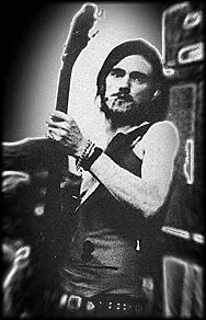 Young Lemmy in Hawkwind