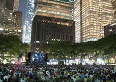 Raiders of the Lost Ark in Bryant Park (August 20)
