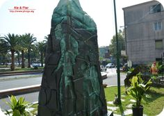 Monumento agli alpini opera di Francesco Cento.