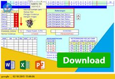 [EXCEL OPS] [Excel] Aplikasi Jadwal Pelajaran SMP Sederhana Tanpa Bentrok Tahun 2015-2016 [.xls]