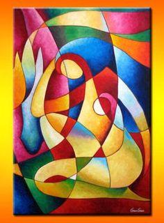 Definition of Abstract Painting Modern Art Paintings, Colorful Paintings, Silk Painting, Painting & Drawing, Pinterest Pinturas, Indian Art, Creative Art, Pop Art, Art Drawings