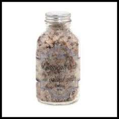 Diamond Rock Crystal Sea Salt with Grilled Spices - France.  This pure gourmet crystal sea salt mix looks superb and the subtle blend of sesame, coriander, caraway and garlic creates a perfect melange of seasonings. This sea salt mix by Terre Exotique, France is a sensational gourmet treat. - $21.50 (9.8 oz)