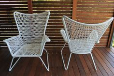 Ikea Chairs - love love love $149 each Great seating for backyard courtyard
