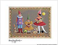 """""""Circus Family"""" Fine Print-Mary Engelbreit"""