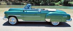 1951 chevy convertible for sale | 1951 chevrolet deluxe convertible drivers side front 1 view 1951