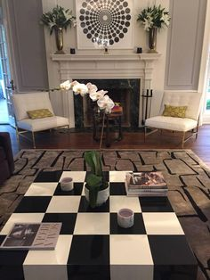 Milo Baughman Checkerboard Lacquer Cocktail Table 4