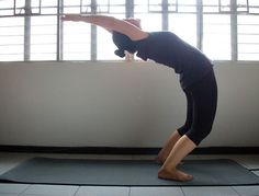 How to Do a Backbend/Bridge from a Standing Position: 5 Steps