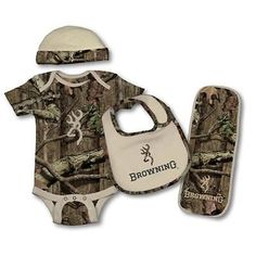 Browning Baby Camo/Tan Set