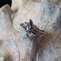 Sterling Silver Pegasus Knuckle Ring st  956 by RAMJewelers, $16.00
