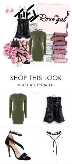 """""""ROSEGAL #22"""" by amina-haskic ❤ liked on Polyvore featuring Urban Decay"""