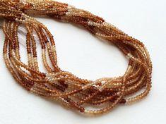 WHOLESALE 5 Strands Hessonite Garnet Israeli by gemsforjewels