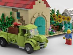 LEGO IDEAS - A Nice Day at the Farm Lego Moc, Lego Ideas, Wooden Toys, Nintendo, Nice, Projects, Wooden Toy Plans, Log Projects, Wood Toys