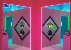 Nike pop-up store door studio Dezeen- Robert Storey.