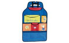 www.cornergp.com Regalos para bebés  www.cornergp.com Regalos para bebés Organizador coche  Muy práctico durante los viajes. Fácil de instalar. Provisto de diferentes departamentos y bolsillos para guardar los juguetes, cuentos y objetos de primera necesidad como biberones, chupetes, etc.