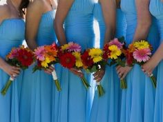 Summer Wedding Colors | Summer Wedding Colors - Embracing The Heat