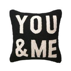 You & Me Hook Pillow