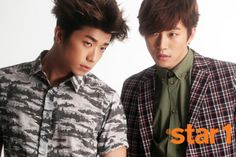 Wooyoung and Junho