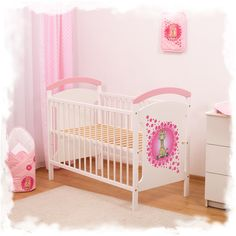 BABY COT WOODEN-GIRAFFE COLLECTIONS 120x60CM. | Cots | You can change the shop title in MODERATION \ SEO