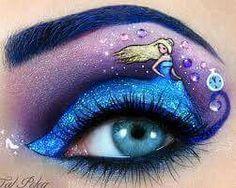 Un maquillaje de ojos inspirado en cenicienta