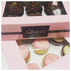 FRIDAY...should always be celebrated with cupcakes. What's your go to Friday flavour?