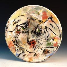 Crimson Laurel Gallery Ron  Meyers Platter with Rabbit http://www.crimsonlaurelgallery.com/Artist-Detail.cfm?ArtistsID=1080