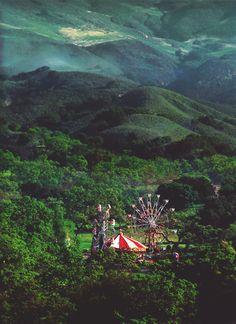 Forest Carnival, Romania by Yuxuan ~Bienvenue sur le Cirque de la Nuit~ Places To Travel, Places To See, Hidden Places, Travel Destinations, Beautiful World, Beautiful Places, Beautiful Forest, Amazing Places, Magic Places