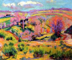 Landscape of Creuse at spring  —Armand Guillaumin