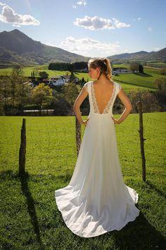 Mariage - Robes Marie Laporte : Robe Leana (Lyon & Bordeaux)
