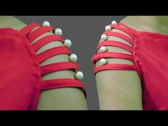 Pearl Sleeves Designs for Kurti | Baju Designs | Cutting and Stitching | BST - YouTube