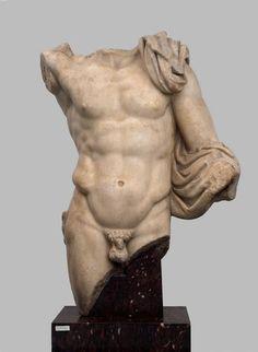 Hellenistic, Pergamon, God or Ruler, mid 2nd century BCE.