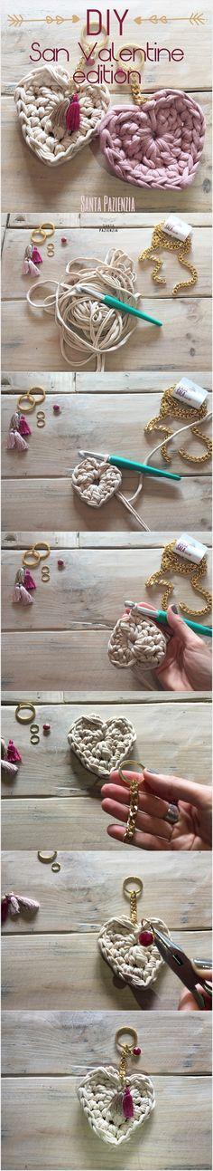 DIY Llaveros para San Valentín