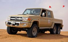 Forget About Mercedes G63, Here's An Awesome 6x6 For Toyota Lovers - MIKESHOUTS